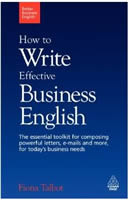 How to Write Effective Business English (ペーパーバック)